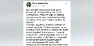 prof dr ilknur arslanoğlu Dilara Kilcioğlu