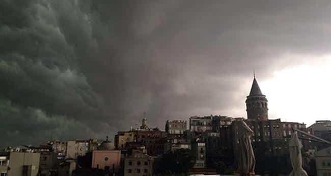 türkiye iklim değişikliği istanbul fırtına