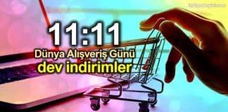 11 kasım Dünya Alışveriş Günü indirimleri