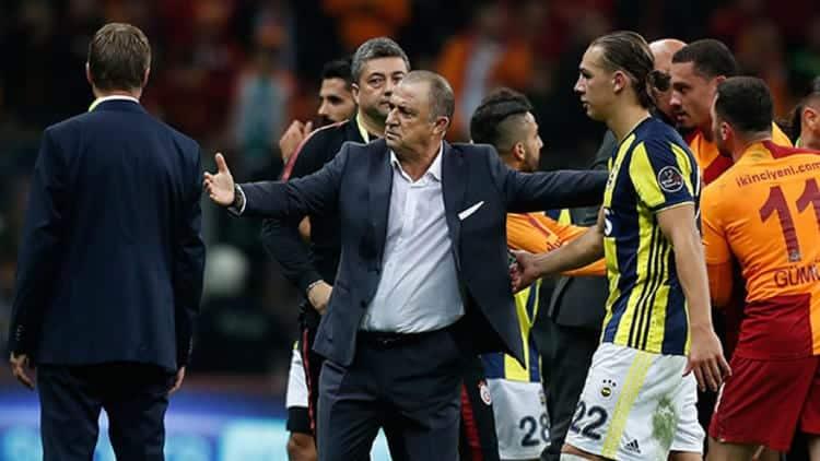 Fenerbahçe - Galatasaray derbisi adına yakışıksız bir maç fatih terim