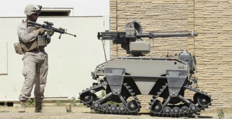 ABD ordusu silahlı katil robotlar