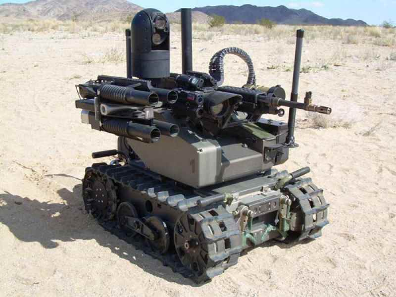 abd amerikan ordusu silahlı katil robotlar
