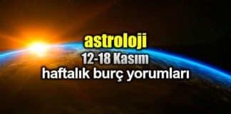 Astroloji: 12 - 18 Kasım 2018 haftalık burç yorumları