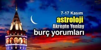 Astroloji: Akrep burcunda Yeni Ay (7 - 17 Kasım) burç yorumları