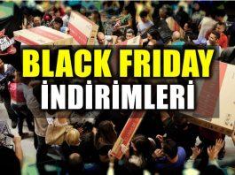 Black Friday (Kara Cuma) indirimleri başladı!