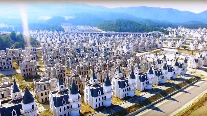 CHP Başkana göre Mudurnu şato villa burj bu hale getiren proje imara uygun