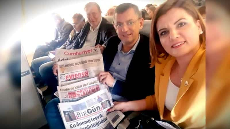 CHP THY sansürüne inat muhalif gazetelerle dayanışma uçuşu