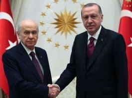 Erdoğan - Bahçeli görüşmesinde yerel seçim için ittifak sinyali