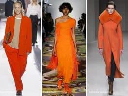 2019 kış modası: Favori renk turuncu