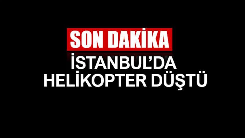 İstanbul Sancaktepe askeri helikopter düştü: 4 şehit