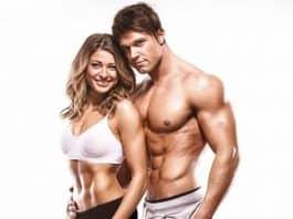 Kas estetiği ile fit, atletik, kaslı ve sağlıklı bir vücut