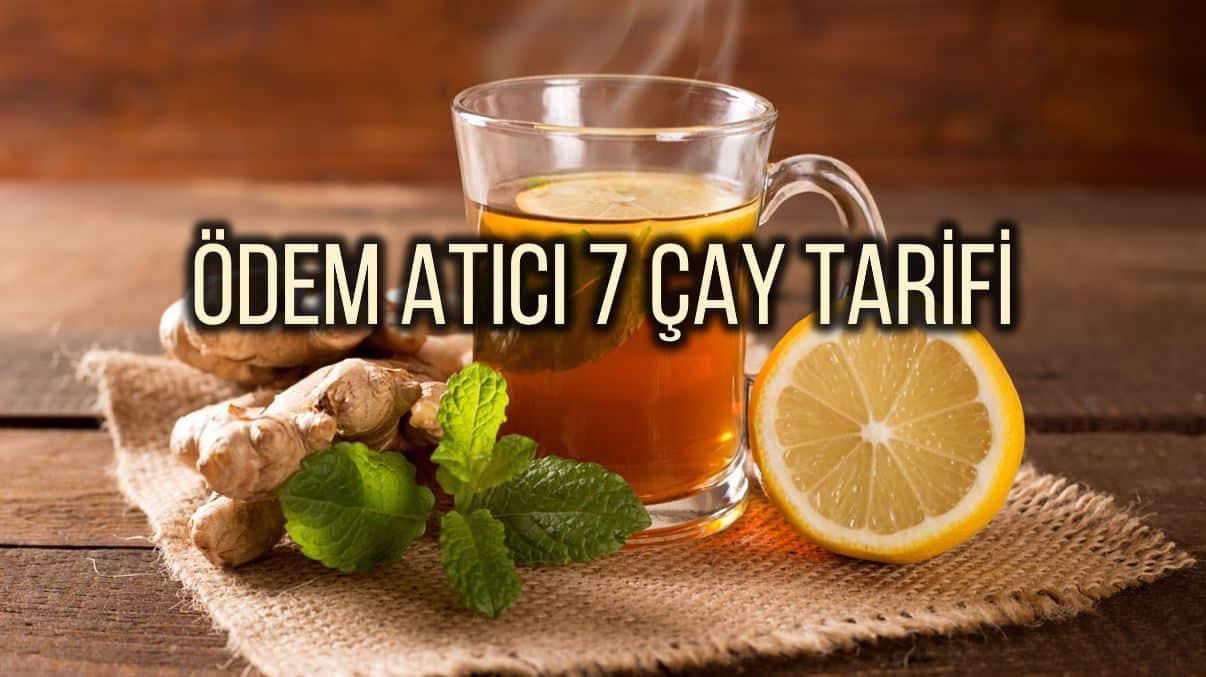 Ödem atıcı çay ve smoothie tarifleri