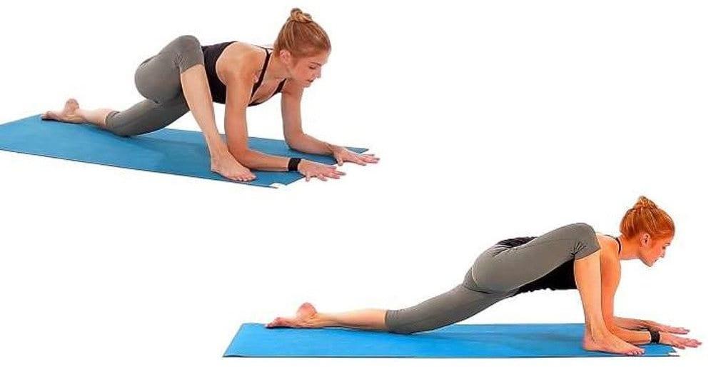 Psoas kası egzersizleri: Psoas kası esnetme teknikleri kertenkele yoga