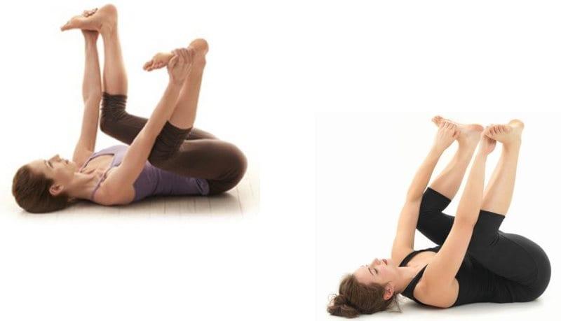 Psoas kası egzersizleri: Psoas kası esnetme teknikleri mutlu bebek yoga hareketi