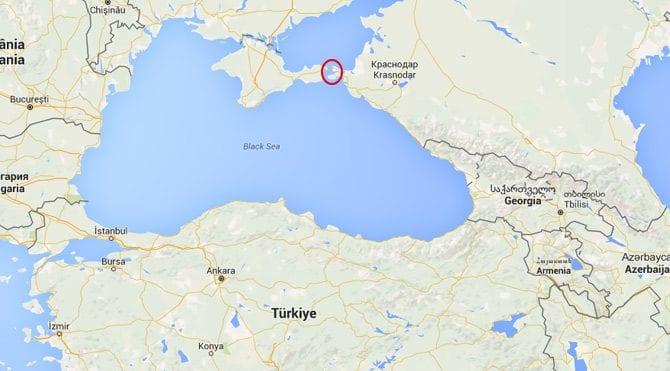 rusya ukrayna kerç boğazı azak karadeniz