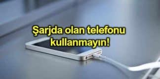 Şarjda olan telefonu kullanmayın! Bataryalar tehlike saçıyor!