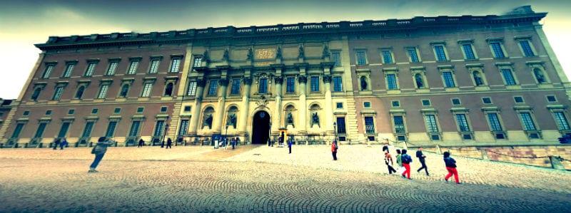 Stockholm Kraliyet Sarayı isveç sweden royal house palace