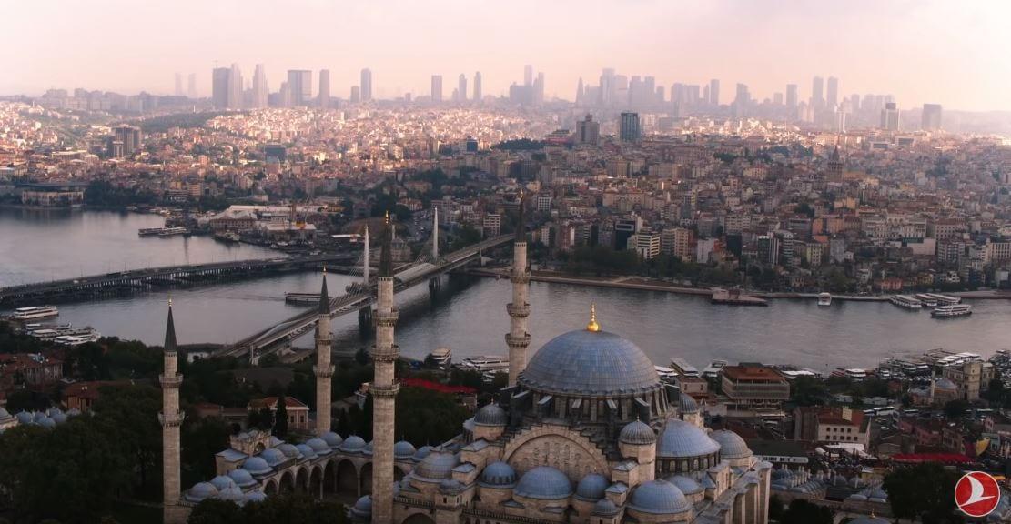 thy reklam filmi istanbul manzarası