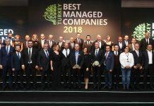 Türkiye en iyi yönetilen şirketileri deloitte ödülleri AROMSA ASAV Defacto Domino Tekstil ISM Makine Karaoğlu Peyzaj Kross Otomotiv Mikropor Nobel İlaç Profen TKG Otomotiv