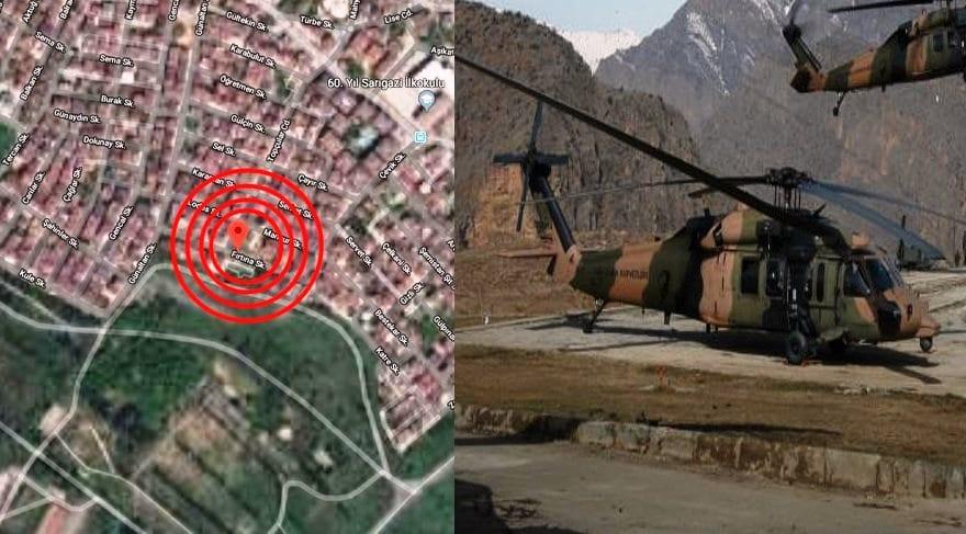 uh-1 tipi askeri heikopter kazası