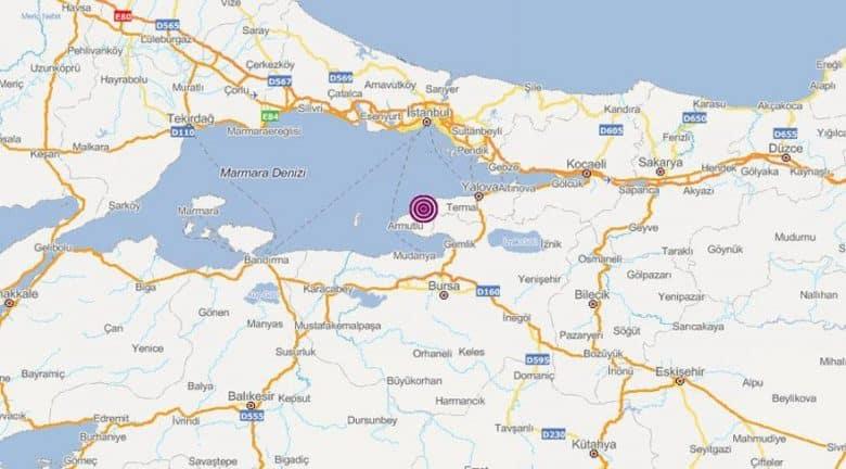 yalova istanbul deprem