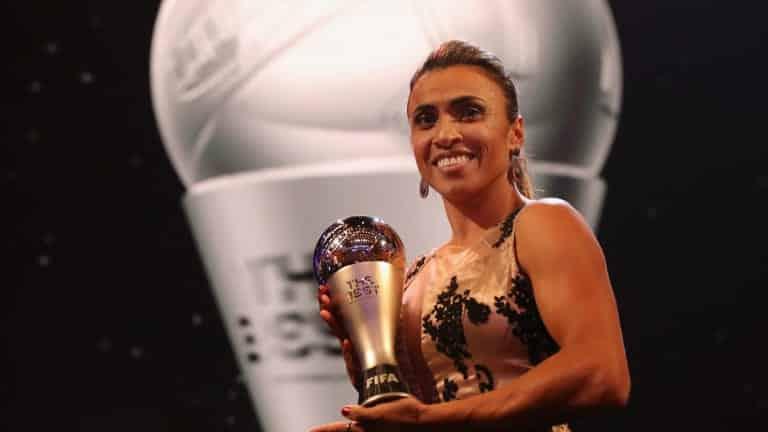 Marta, 2018 FIFA Yılın En İyi Kadın Oyuncusu Ödülü / FIFA.com'a verdiği röportaj