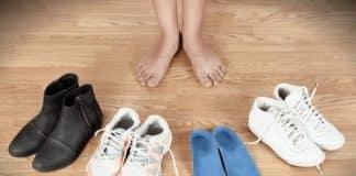 Ayakkabı seçimi parmak uzunluğuna göre yapılmalı