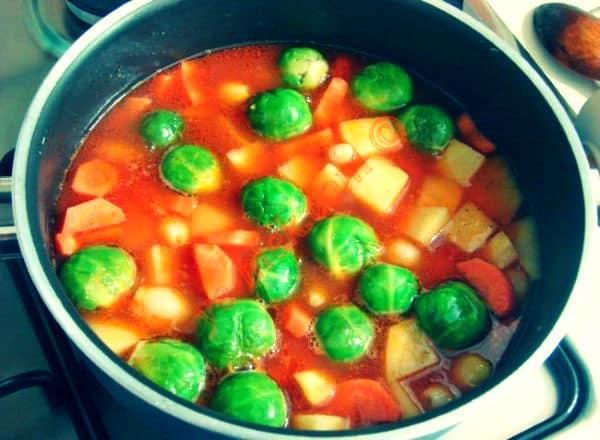 Brüksel lahanası yemeği tarifi