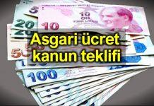 CHP asgari ücret için kanun teklifi verdi: 2200 TL olsun