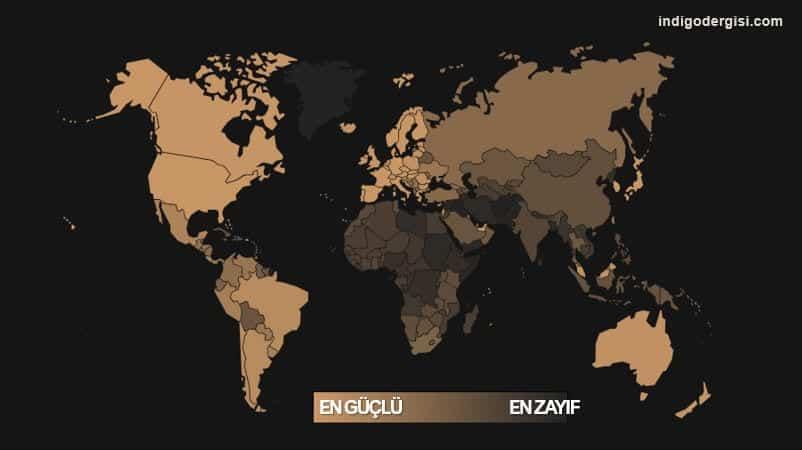 Dünyanın en güçlü pasaportları: Türkiye 39. sırada!