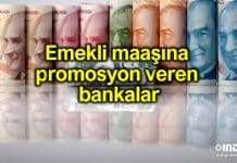 Emekli maaşına promosyon veren bankalar: 600 TL alabilirsiniz!