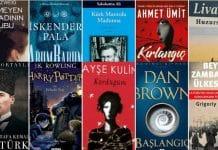 2018 yılı en çok satan kitaplar ve yazarlar