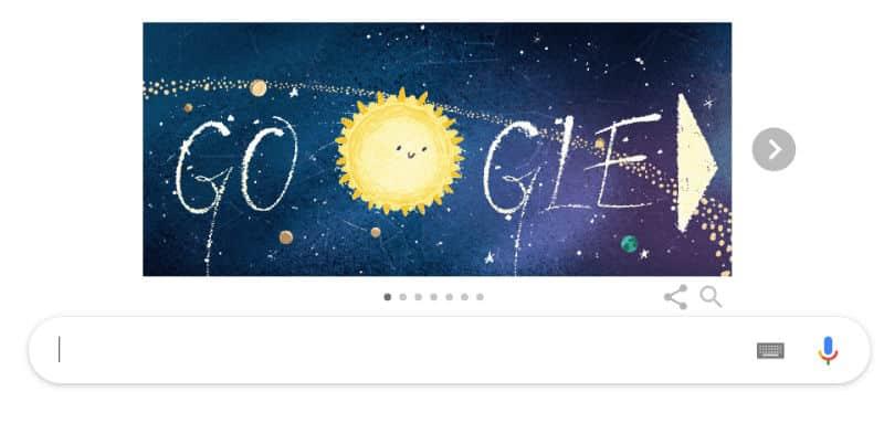 geminid meteor yağmuru Google Doodle oldu turkey geminid meteor shower