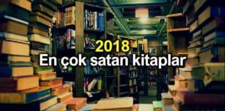 Kitap satış sitelerine göre 2018 en çok satan kitaplar