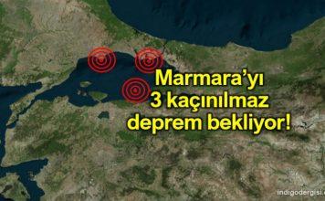 Korkutan uyarı: Marmara 3 kaçınılmaz deprem bekliyor!