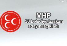 MHP belediye başkan adayları açıklandı - 31 Mart 2019 Yerel Seçimleri