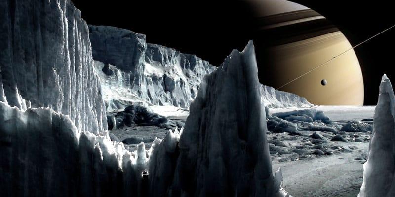 enceladus buz tabakası altında okyanus canlı yaşam