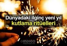 Yeni yıl kutlamaları ile kültürünü yansıtan 6 ülke