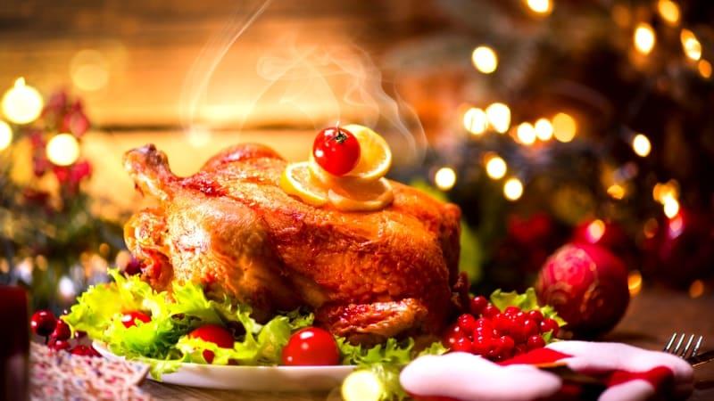 Yılbaşı yemeği için örnek menüler fırında ızgara hindi