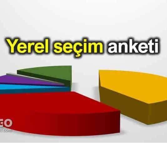 31 Mart 2019 yerel seçim anketi AK Parti CHP ankara istanbul oy oranları