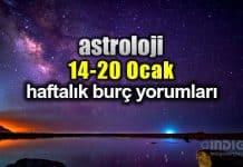 Astroloji: 14 - 20 Ocak 2019 haftalık burç yorumları