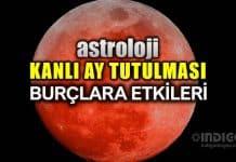 Astroloji: 21 Ocak 2019 Kanlı Ay Tutulması burç yorumları