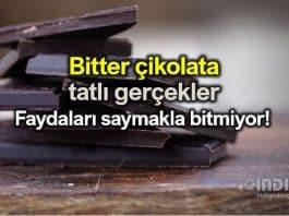 Bitter çikolata, tatlı gerçekler! Faydaları saymakla bitmiyor!