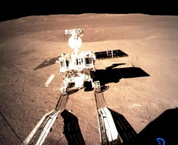 chenge 4 uzay aracı çin ay karanlık yüzeyi