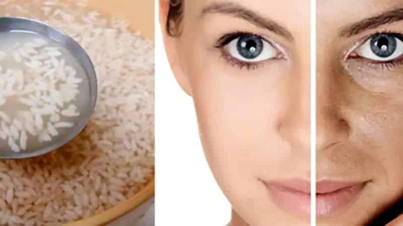 Cilt güzelliği için pirinç unu ve pirinç suyu mucizesi