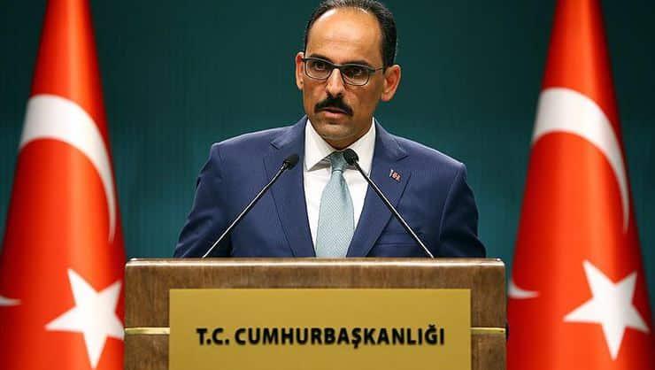 Cumhurbaşkanlığı Sözcüsüİbrahim Kalın