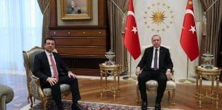Ekrem İmamoğlu ile Cumhurbaşkanı Erdoğan görüşmesi