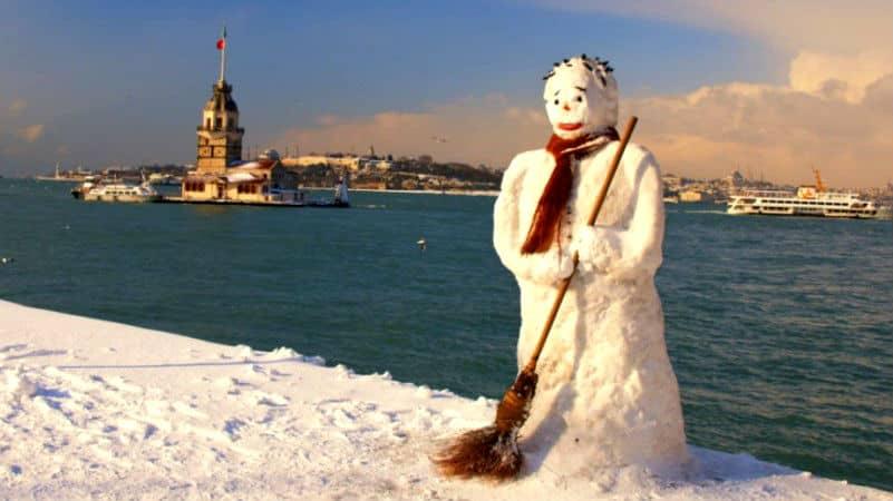 İstanbul için kar yağışı uyarısı: Beyaz örtü yapması bekleniyor!