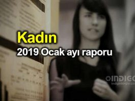 Kadın: 2019 Ocak ayı raporu