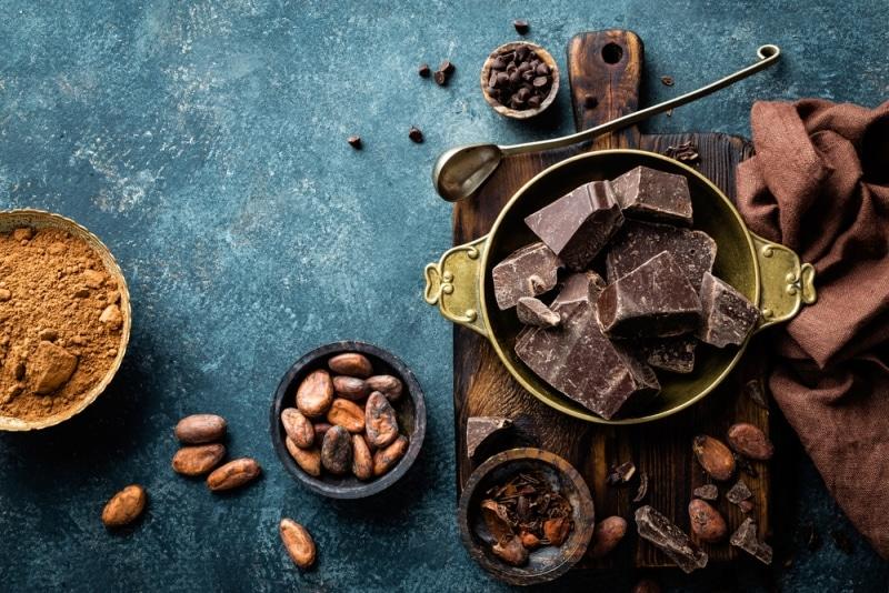 kakao bitter çikolata